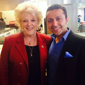 Alan Semsar with Las Vegas Mayor Carolyn Goodman