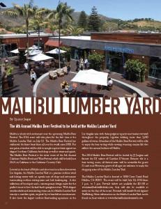Malibu Lumber yard Event
