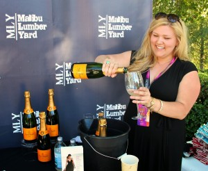 Malibu Lumber Yard - veuve clicquot champagne