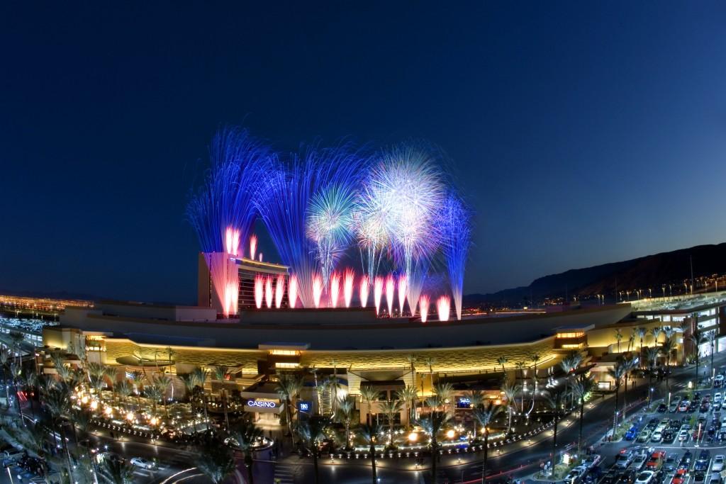 Fireworks Red Rock