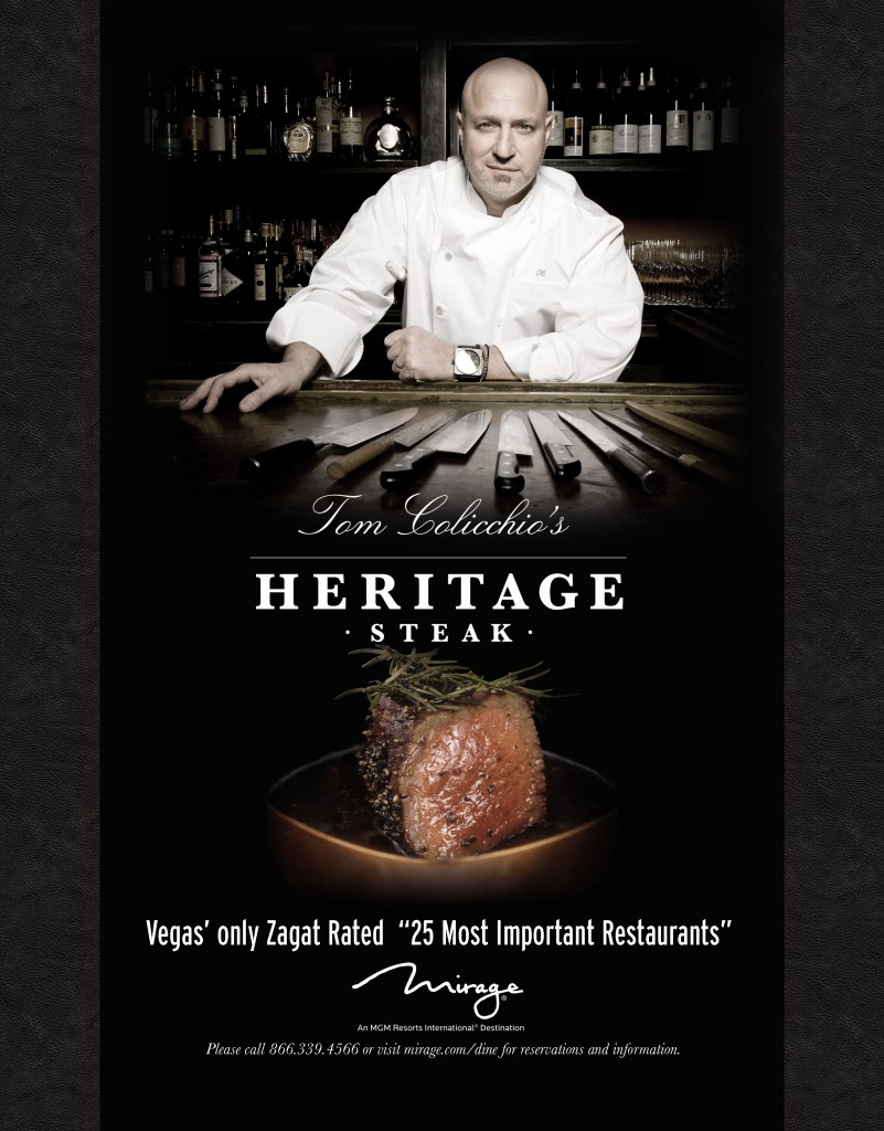 Tom Colicchio's Heritage Steak at The Mirage Las Vegas