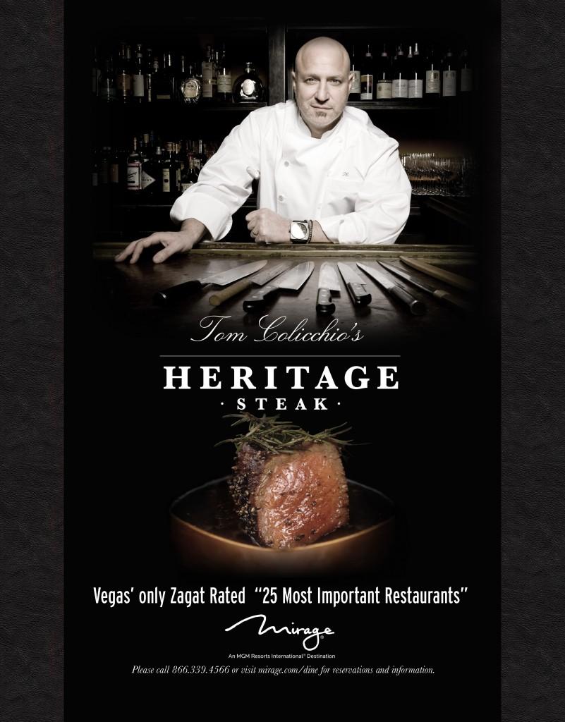 Tom Colicchio's Heritage Steak at The Mirage Las Vegas