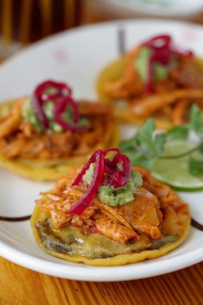 Border Grill Chicken Panuchos