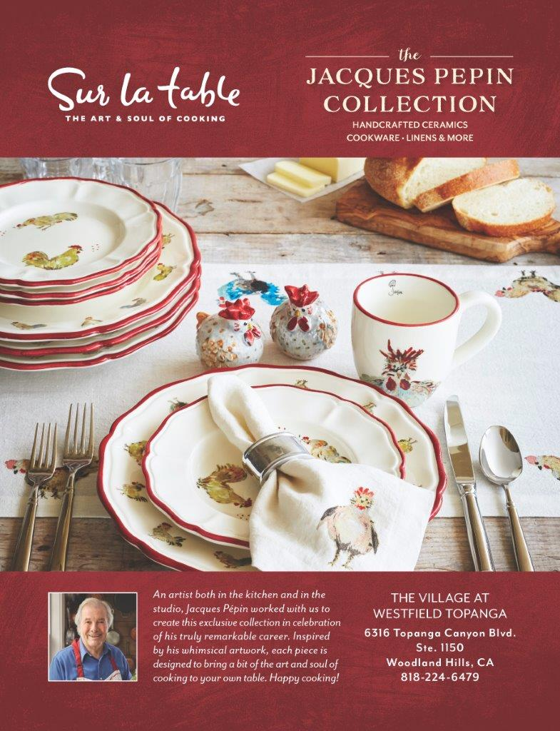 JACQUES PEPIN COLLECTION – Vegas 2 LA Magazine
