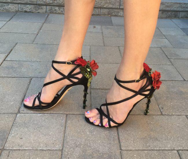 D&G Rose Heels
