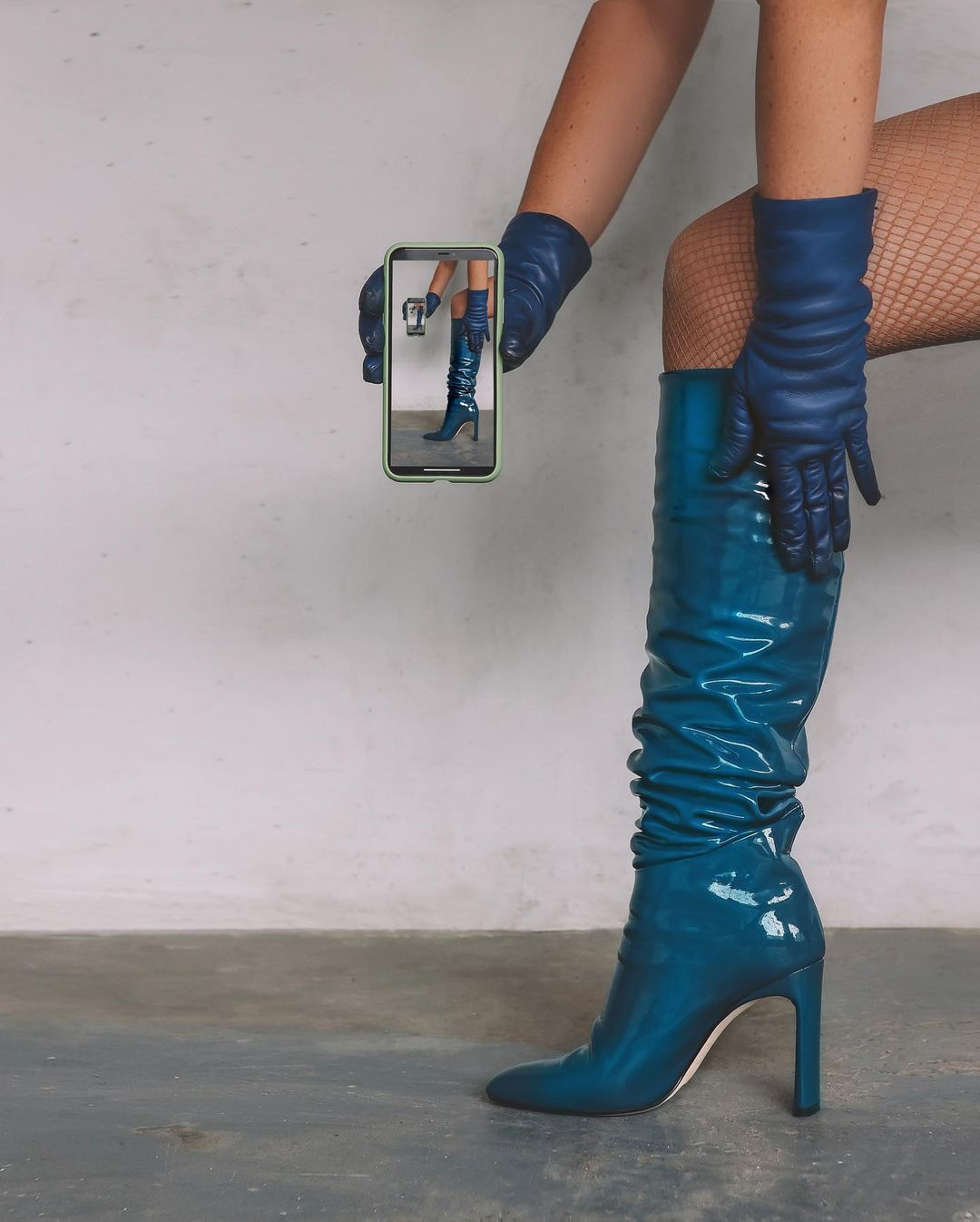 Legacy Kneehigh boots, Patent Leather by Tamara Mellon